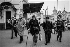 DRD161006_01066 (dmitryzhkov) Tags: urban outdoor life human social public stranger photojournalism candid street dmitryryzhkov moscow russia streetphotography people bw blackandwhite monochrome terminal