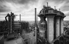 Abandoned Steel Plant (RAM.style) Tags: lapadu abandoned decay lostplaces urbex monochrom blackwhite bw old rotten exploring exploration industry abandonedindustry darkstyle ramstyle nikon nikond750