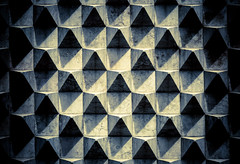 Honeycomb (The Green Album) Tags: lisbon museum exterior pattern raised 3d grid snoot honeycomb filter architecture abstract