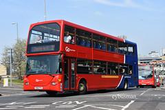 Go North East 6176, YN06FFS. (EYBusman) Tags: go ahead north east northern general bus coach gateshead town centre tyne wear scania n94ub lancs lancashire omnidekka brighton hove 6176 yn06ffs eybusman