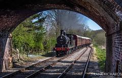 52322 | Shottle | 20th April '19 (Frank Richards Photography) Tags: shottle train steam derbyshire railway ecclesbourne valley evr wirksworth lancashire yorkshire class 27 br black livery no 52322 ly nikon d7100 rail uk england english