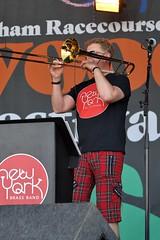 190-20180602_14th Wychwood Music Festival-Cheltenham-Gloucestershire-Main Stage-New York Brass Band-trombone (Nick Kaye) Tags: wychwood music festival cheltenham gloucestershire england
