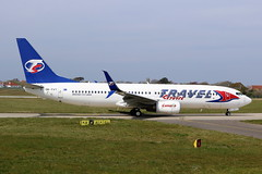 OK-TVT Boeing 737-86N on 15 April 2019 Jersey (Jersey Aviation Images 2020) Tags: aircraft airplane aeroplanes aeroplane aircraftspotters planes flyingmachines aviation