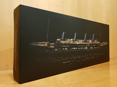 1/400 scale Titanic with LEDs (aecsouthall) Tags: rmstitanic 1400scale plasticmodelkit academy