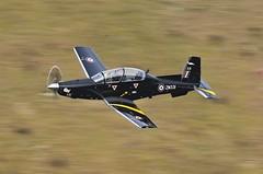 RAF TEXAN T1 (Dafydd RJ Phillips) Tags: raf texan t1 valley royal air force mach loop snowdonia fighter pilot avgeek military training trainer student