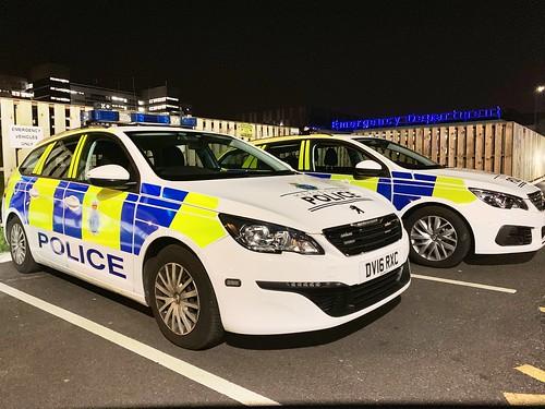 Merseyside Police Peugeots