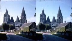 Batch E 0125 (dizzygum) Tags: vintage stereo 3d slide image france 1960 chapel loches
