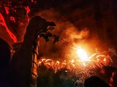 Fogonada (Miquel Lleixà Mora) Tags: santjordi folklore eldrac festespopulars mataro fogonada tradition tradicio igersmaresme igerscatalunya igers igersmataro foc