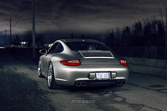Porsche 911 | 997.2 | BC Forged KL12 Wheels | BC Racing BR Coilovers (Peter Nowacki) Tags: lightpainting 50mm sigma50mm 50mmf14 canon6d porsche porsche911 911carrera 997 9972 porschecarrera night longexposure