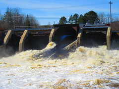 IMG_4865 4-23-2019 (PGK88) Tags: dam spillway floodgates flood flooding river runoff flow water spring springtime structure architecture industrial hydroelectric spillwaygate taintergate damgate 2019