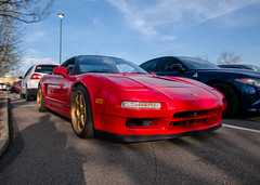 Red NSX (shoffty619) Tags: car automotive acura stance nsx