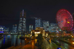 みなとみらいの夜景_Minatomirai night view/Yokohama/Japan (Marvelous Chester) Tags: 神奈川 横浜 みなとみらい 夜景 japan kanagawa yokohama minatomirai night outdoor landscape pentax k30 da15mmlimited