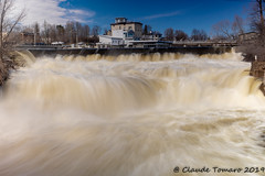 Almonte Falls-3 (Claude Tomaro) Tags: almonte fall longexposure mississipi ontario spring water waterfall