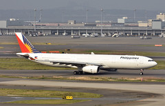 Philippine Airlines, RP-C8784, Airbus A330-343X at HND (tokyo70) Tags: japan travel tour tokyo philippineairlines a330