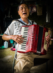 Man and Accordion (si_glogiewicz) Tags: music musician musical instrument instruments play player man accordion performance perform performer asia taipei taiwan