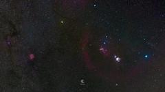 The Orion Nebula (M42) (Christophe_A) Tags: nebula cluster m42 orion rossette barnards loop flame horsehead greece deep sky deepsky astro astrophotography nikon d850 tokinaopera tokina tokina50mm slik astra tracker slikech630 hoya redenhancer antiparos night stars stargazer starlights