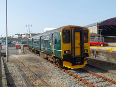 150249 Penzance (2) (Marky7890) Tags: gwr 150249 class150 sprinter penzance railway cornwall cornishmainline train