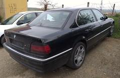 1996 BMW 7-Series E38 (FromKG) Tags: bmw 7series e38 black car kragujevac serbia 2019