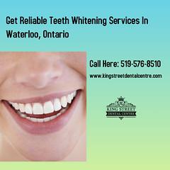 Teeth Whitening  Clinic Waterloo Ontario (Kingstreetdentalcentre) Tags: dentistwaterloo dentistry dentalclinic teethwhitening