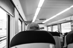 BOSTON (nicolasheinzelmann) Tags: hut cap boston 11 train schwarzweiss sw bokeh details blackandwhite bw april schweiz canoneos5dmarkiv 5dmkiv 5dmiv canonef28mmf18usm day dslr switzerland lights light urban 22april2019 nicolasheinzelmann