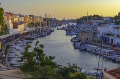 Ciutadella - Menorca (Alphonso Mancuso) Tags: ciutadella menorca islasbaleares españa puertodeciutadella travel viajes ciudad city europa europe alphonsomancuso sunset atardecer