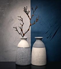 blue (monsugar) Tags: blue color art photo jarron bodegon stilllife interior texturas luces