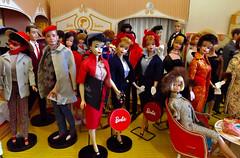 THREE CAREER GALS (ModBarbieLover) Tags: barbie doll vintage mattel commuterset busygal 900fashions toy boutique fashionshop 1960 1963 ken