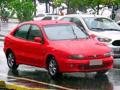Fiat Brava SX 2002 (Marcos Acosta) Tags: auto autos automóvel automobile automóvil brasil brazil brasileiro brasiliano brava brazilian braziliancar car cars carro coche fiat fiatbrava hatch hatchback italian ilaliano southamerican vehiculo voiture veículo veicolo viatura worldcars vermelho red rojo rosso