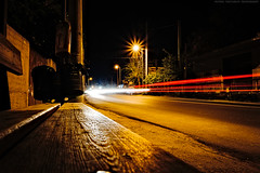 Kamatero - Filis 10th bus stop (2) / Καματερό - 10η Φυλή (2) (kostavita) Tags: urban urbanphotography street surreal surrealism color colour lights lighttrails kamatero greece car δρόμοσ σουρεαλισμόσ υπερρεαλισμόσ φώτα καματερό ελλάδα αυτοκίνητο