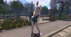 Snapshot_773 (Bunny doll) Tags: second life sl secondlife slanime anime avatar screenshot secondlifephotography cute kawaii ahs2 asr philo sophia bunny girl