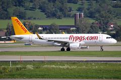 """Pegasus Airlines Airbus A320-216 TC-DCI """"Derya"""" (M. Oertle) Tags: pegasusairlines airbus a320216 tcdci derya"""