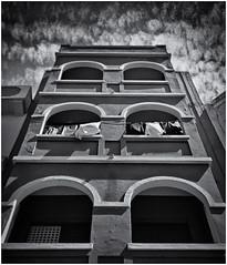 Lomography (Black and White Fine Art) Tags: lomography lomografia debonair plasticcamera camaraplastica toycamera camaradejuguete kodakbw400cnexp2007 kodakd76 sanjuan oldsanjuan viejosanjuan puertorico bn bw niksilverefexpro2 lightroom3