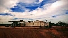 Abandoned (ambientlight) Tags: ironknob southaustralia roadhouse abandoned ambientlight