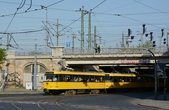261+229+020 Linie E3 (Kevin Schenkel) Tags: tatra t4d tram strasenbahn dvb dresden verkehr öpnv nahverkehr fotografie frühling sonne