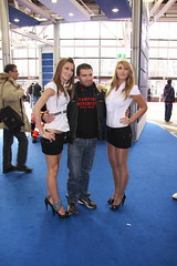 motorshow promoter (themax2) Tags: bologna tights shiny promoter pantyhose motorshow miniskirt legs hostess high heels girl cfm shoes 2009 highheels cfmshoes