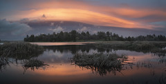 San Diego : Rancho Cuyamaca State Park (William Dunigan) Tags: san diego southern california lake cuyamaca rancho state park sunset panorama color photography east county nature landscape