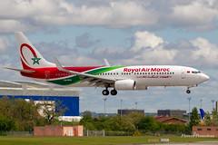 CN-ROU Royal Air Maroc Boeing 737-8B6(WL) (Florent Péraudeau) Tags: cnrou royal air maroc boeing 7378b6wl 737 738