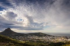 Storm moving in (paul indigo) Tags: capetown lionshead paulindigo signalhill city landscape sky