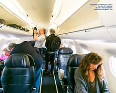 Slice of First-Class ERJ-175 Cabin (AvgeekJoe) Tags: d5300 dslr e75l erj170200lr erj175 erj175lr embraer embraererj170200lr embraererj175 embraererj175lr n624qx nikon nikon1020mm nikon1020mmafpdxf4556gvr nikond5300 nikonnikkor1020mmafpdxf4556gvr aircraft airplane aviation jetliner plane