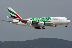 Emirates / A388 / A6-EOK / LEBL 07L (_Wouter Cooremans) Tags: bcn lebl barcelona barcelonaairport barcelonaelprat spotting spotter avgeek aviation airplanespotting emirates a388 a6eok 07l expo 2020