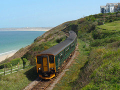 150234 & 150244 Carbis Bay (5) (Marky7890) Tags: gwr 150234 class150 sprinter 2a25 carbisbay railway cornwall stivesbayline train