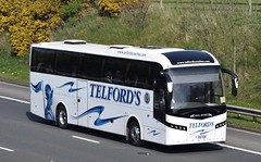 X5TCN  Telfords, Newcastleton (highlandreiver) Tags: x5tcn x5 tcn telfords coaches newcastleton jonckheere bus coach m6 wreay carlisle cumbria