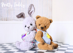 Together (Marina Arbuzova) Tags: teddy artist interior toy bunny rabbit bear cute baby boy girl