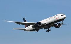 C-FNNQ Boeing 777-333ER Air Canada (R.K.C. Photography) Tags: cfnnq boeing 777333er b777 aircanada ac aca aircraft aviation airliner london england unitedkingdom uk 09l lhr egll londonheathrowairport canoneos100d