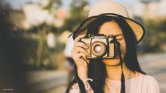 Film (vnproben) Tags: 50mm a6500 girl film vintage sunset