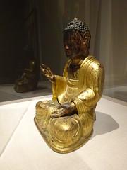DSC03171 (Akieboy) Tags: buddha statue carving sculpture man male gilt gold asia lacma art asianartspavilion