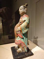 DSC03163 (Akieboy) Tags: boy sculpture carving statue wood korea asia lacma art asianartspavilion