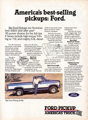 1985 Ford F Series Pickup Truck Page 1 USA Original Magazine Advertisement (Darren Marlow) Tags: