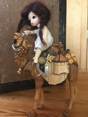 Leaving the Caravan_3528 (Emily1957) Tags: pukipuki ante pukipukiante camel caravan toys toy dolls doll bjd iphone