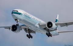 Cathay Pacific - Boeing 777-367(ER) - B-KQP - YYZ Airport (tremblayfrederick98) Tags: